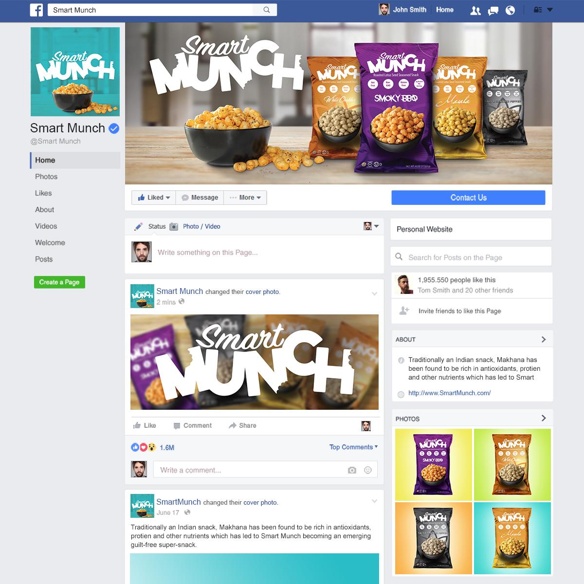 Facebook Mockup 01 – Lindig Designs